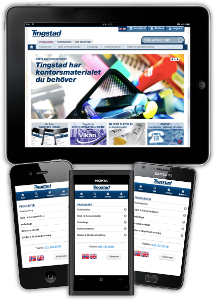 Tingstad Papper on iPad, iPhone, Android & Windows Phone